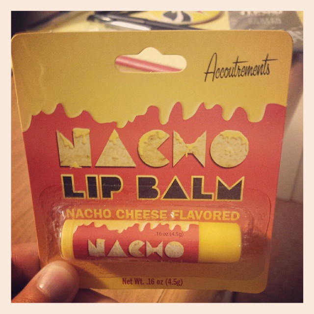 Ladies, my lips will be cheesy today...