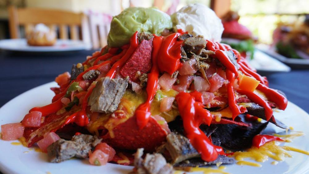 The Lava Nachos at Knott's Scary Farm