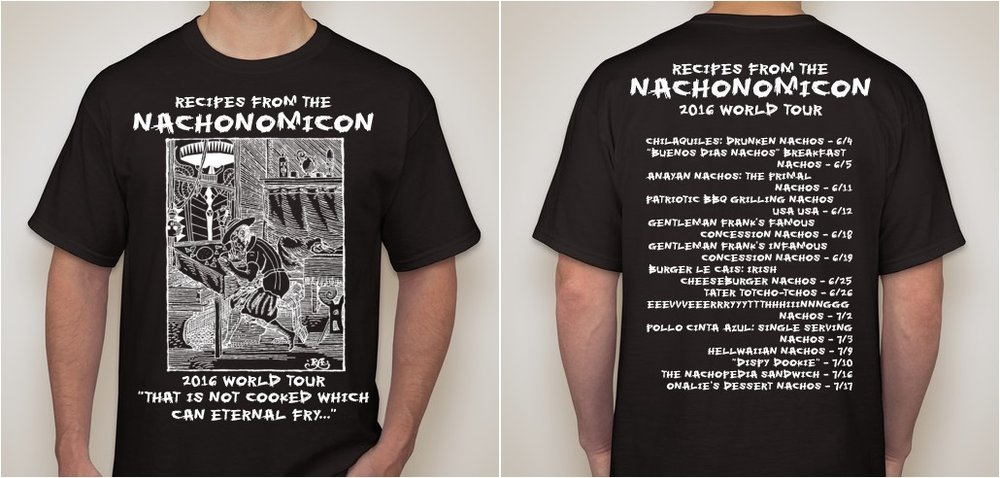 Nachonomicon World Tour Shirt