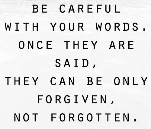 the power of words so what s your decision