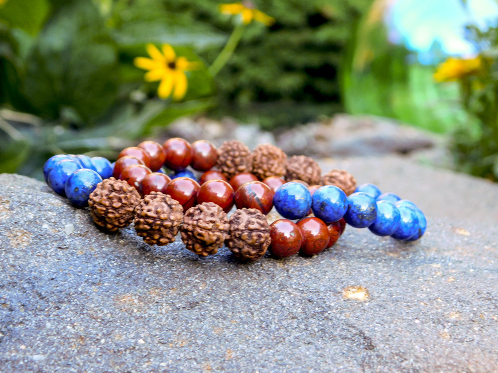 The Yoga for First Responders wrist mala is  exclusive  to YFFR! If you're interested in buying one, contact them directly with  this link.