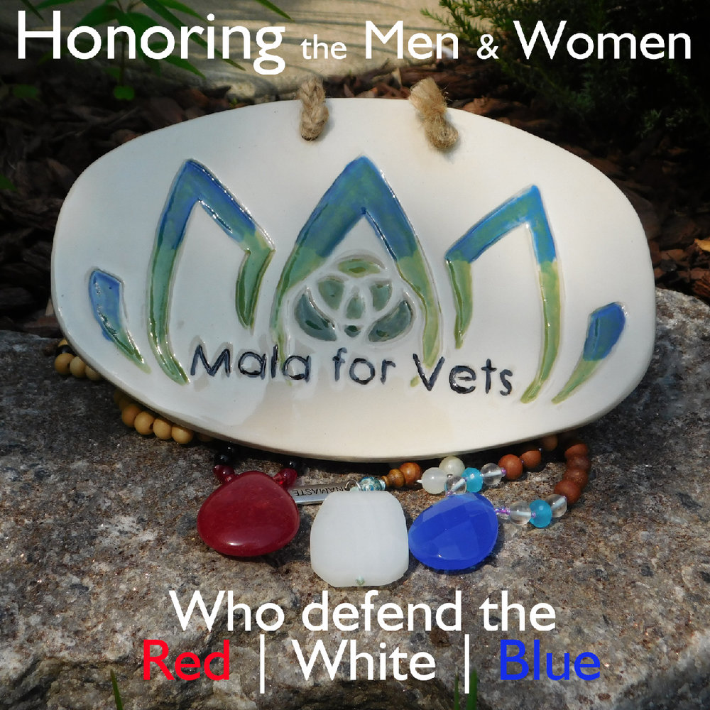 #HelpingVets - I do not have a wholesale price perse, but can offer discounts in several different ways. I firmly believe that you can buy mala beads from anyone, but my brand identity and the work I am trying to do puts me in a niche market. A market that is doing more than just making money, rather helping to take care of our Vets. I support Mindful Yoga Therapy, the Give Back Yoga Foundation, VETOGA, Mission22, The Sparta Project, and Boulder Crest as well as pass out free swag to Vets and donate items to fundraisers. Here are the different ways we might be able to work out a mutually beneficial business partnership. If any of these options interest you, send me an email: malaforvets@gmail.com