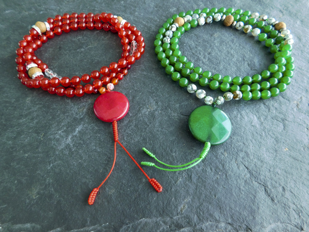 Here are the mala beads you can win!
