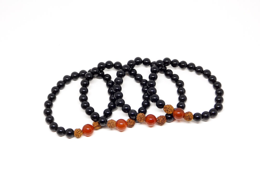 The Mission 22 wrist mala is  exclusive  to Mission 22 and will be available for sale on their website soon  at this link.