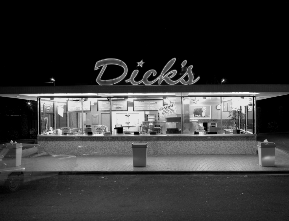 Dick's Drive Inn, Seattle, Washington, 1985