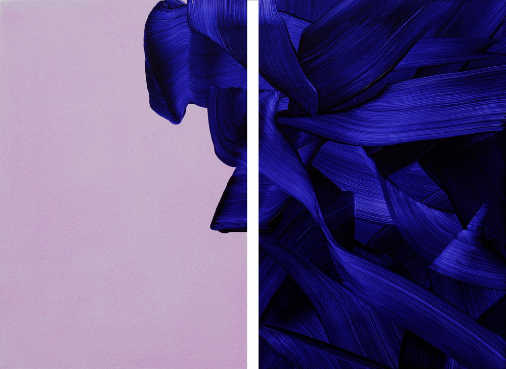 Over Flow (diptych)