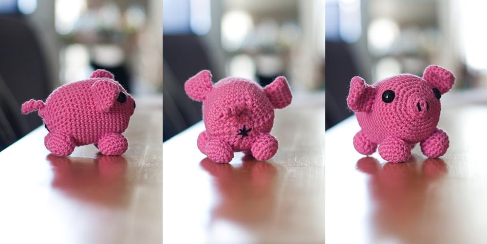 Gusano, l'artiste du crochet qui fait des animaux à culs. Chaques petite bête a quitté son lieu de création a été duement photographié (dans des poses explicites, le cul bien en vue, ça va de soi). j'ai hâte d'en faire une jolie compilation! En attendant voici... du jambon.