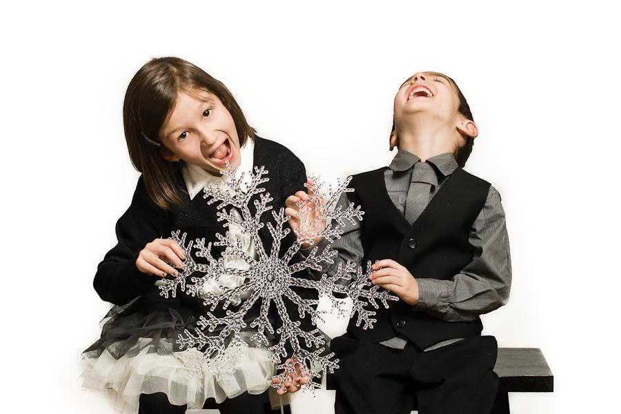 Photos de Noël avec la famille Rochefort
