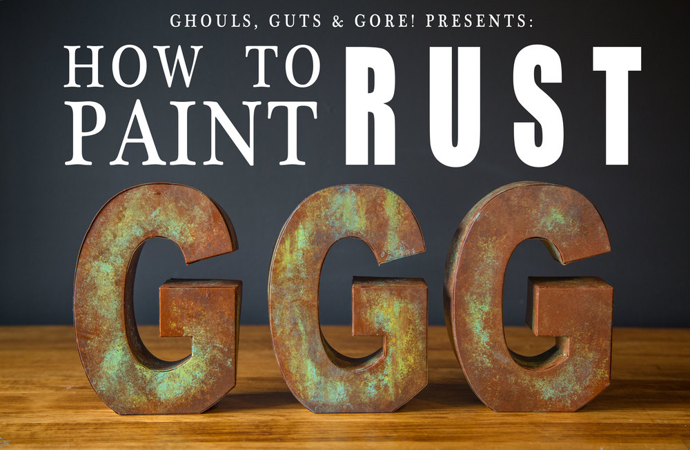 how to paint rust grey suit studios