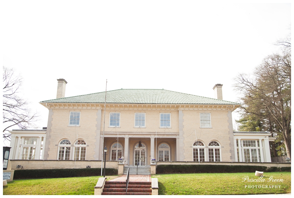 Front of the Mansion