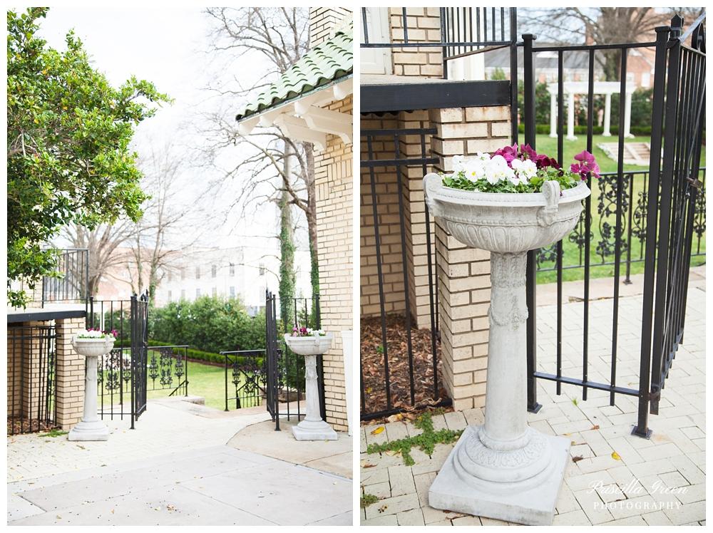 Entrance to gardens