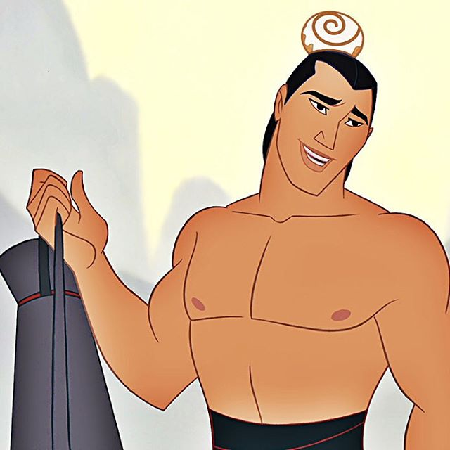 #cinnamanbun #manbun #general  #lishang #strongbun #mulan #disney #cartoon #pastry #prince
