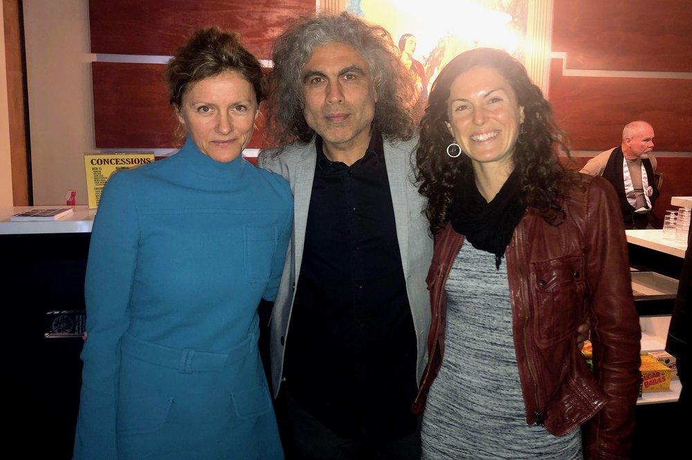 Actress Tanja Dzambazova, Director Alex Vargas & Executive Producer Katie McFadden