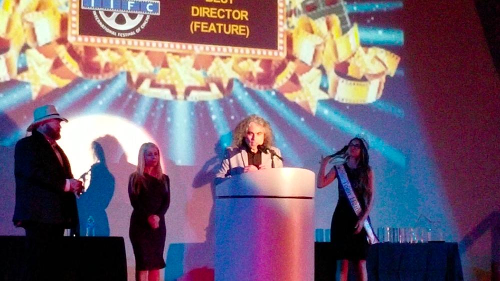 Best Director Feature Film Award - Alex Vargas