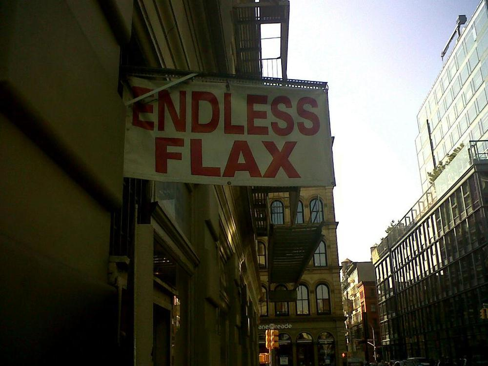 Endless Flax—I won't spam your inbox, though