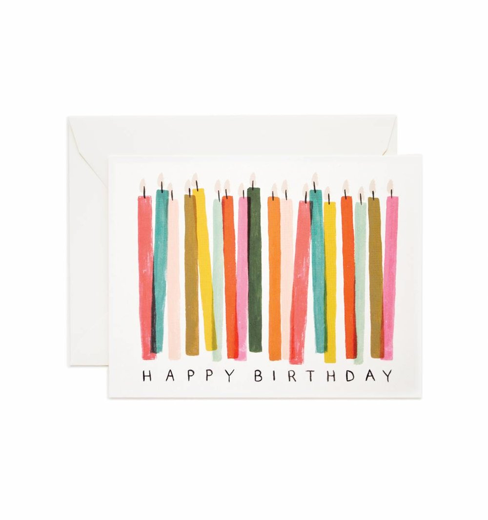 ROOLEE Assorted Birthday Card Set