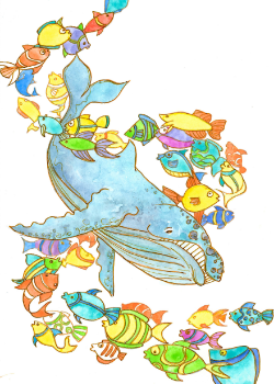 Whale:Full color