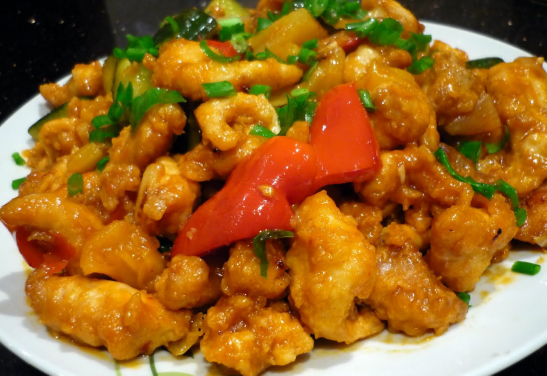 THAI CHILE CHICKEN BITES Tossed in a Sweet & Spicy Thai Chile Glaze.