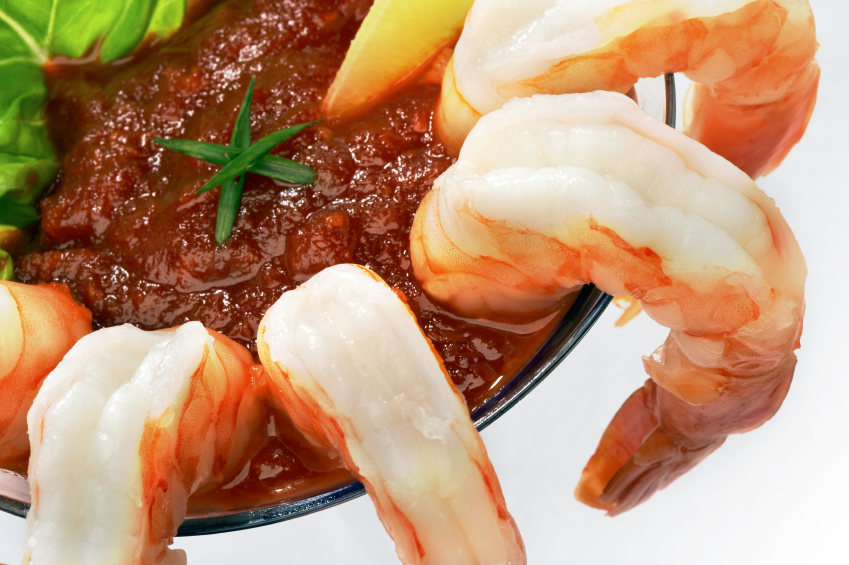 COLOSSAL SHRIMP COCKTAIL Served Chilled with Our Zesty Cocktail Sauce.