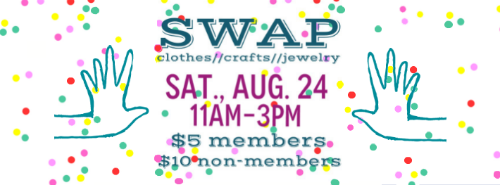 Swap Picnic #2 in Orange County at Community in Anaheim. Bring a bag to swap and dish to share!