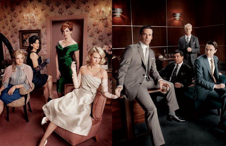 Mad Men cast (credit: AMC)
