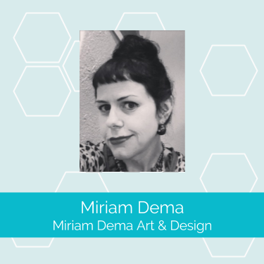 Miriam Dema art design screen print member profile