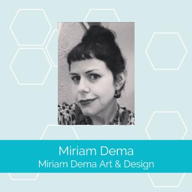 Miriam Dema art design screen print member profile