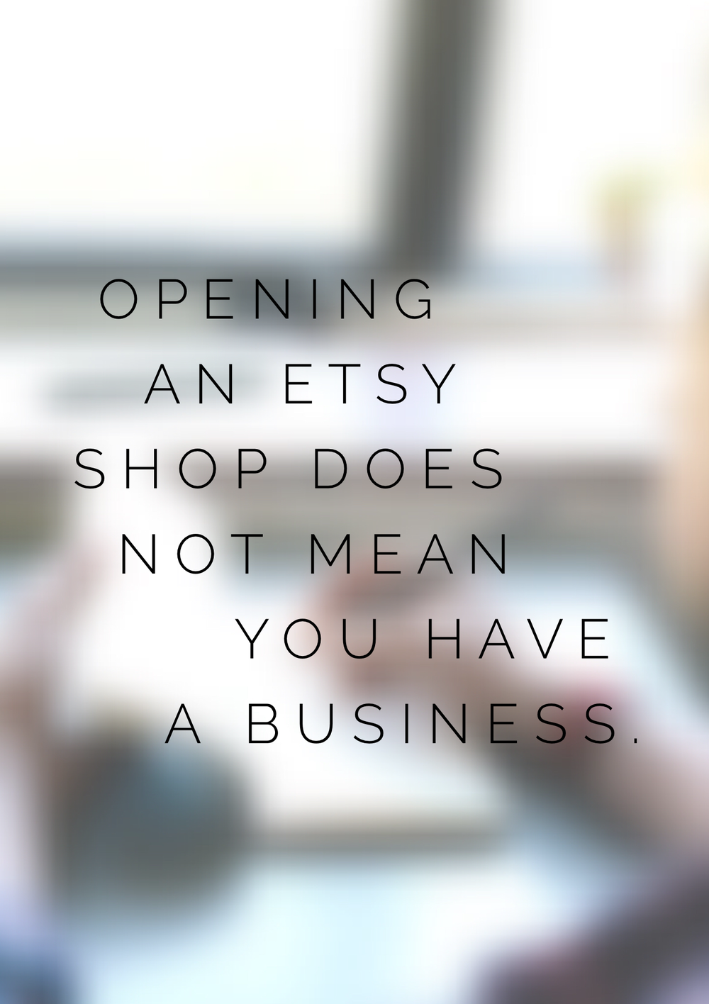 You need more than an ecommerce platform to make a business.