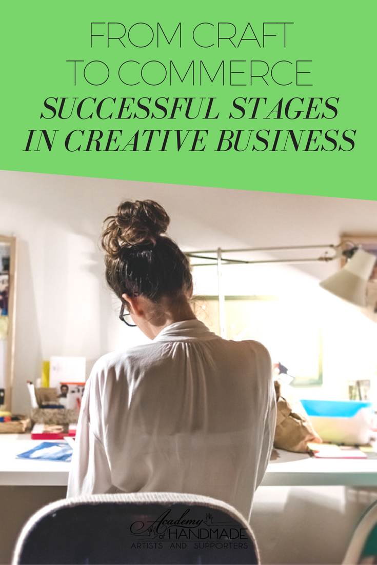 successfulcraftbusinessstages