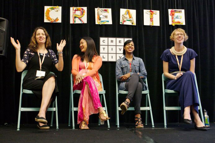 (Craftcation Panel) photo credit: Nicole Stevenson