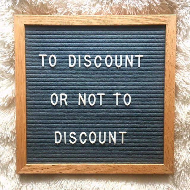 There's a lot of pressure to discount as maker. Your product is naturally more expensive than mass produced items. There's also A LOT of advice telling you about not discounting. We wanted to explore the finer points of discounting and when to consider it! Listen 🎧here 👉 ahas.info/todiscountornot or click the link in the profile
