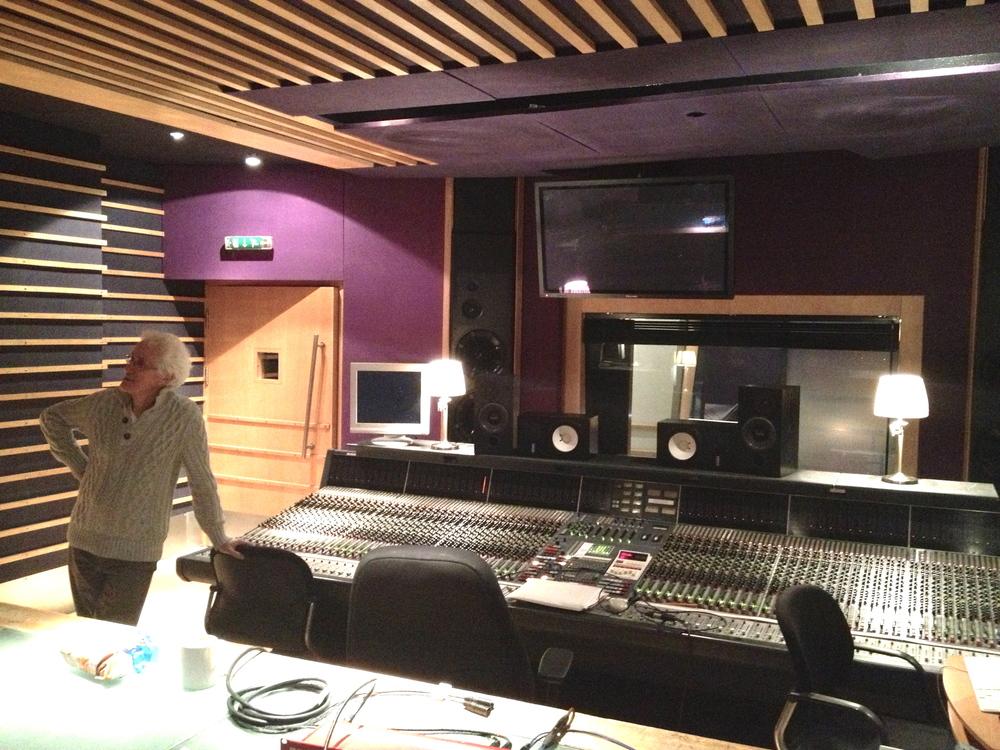 Rupert @ Metropolis Studios London
