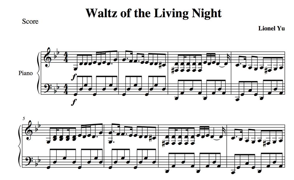 Sheet Music Musicalbasics