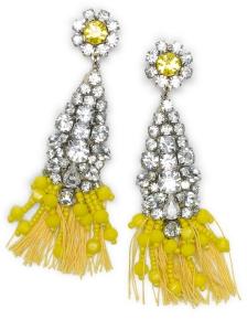 Rada Crystal Earrings, Club Monaco $179