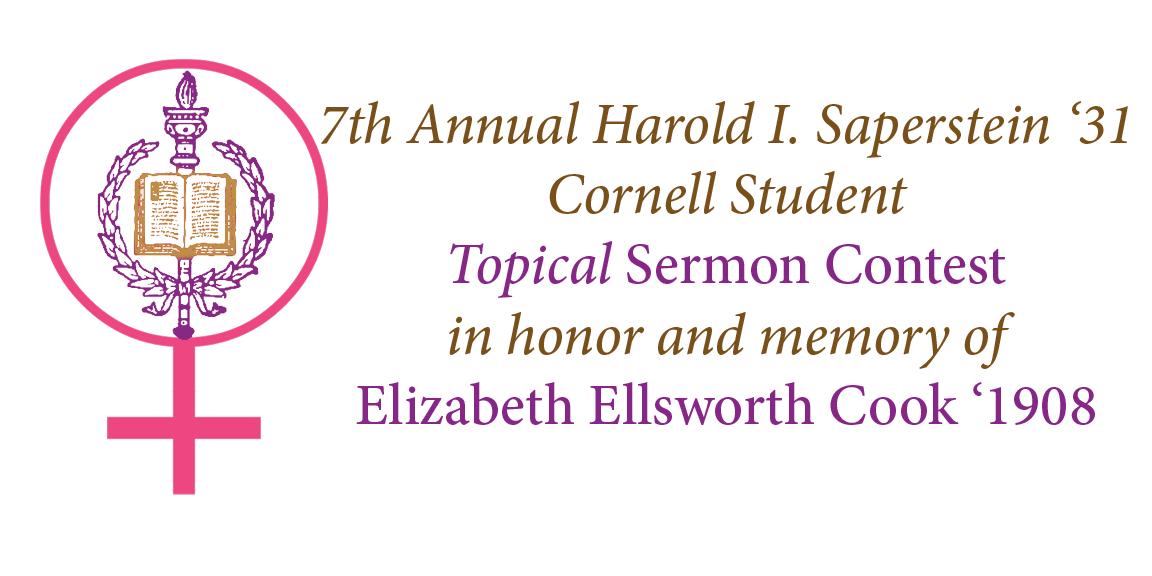 Cornell Student Topical Sermon Contest
