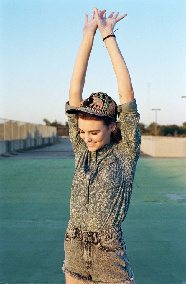 monica cox - for urban outfitters spring lookbook