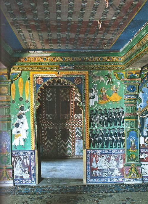 Indian Interiors, photographies de Deidi von Schaewen, ed. Tashen, 2008.