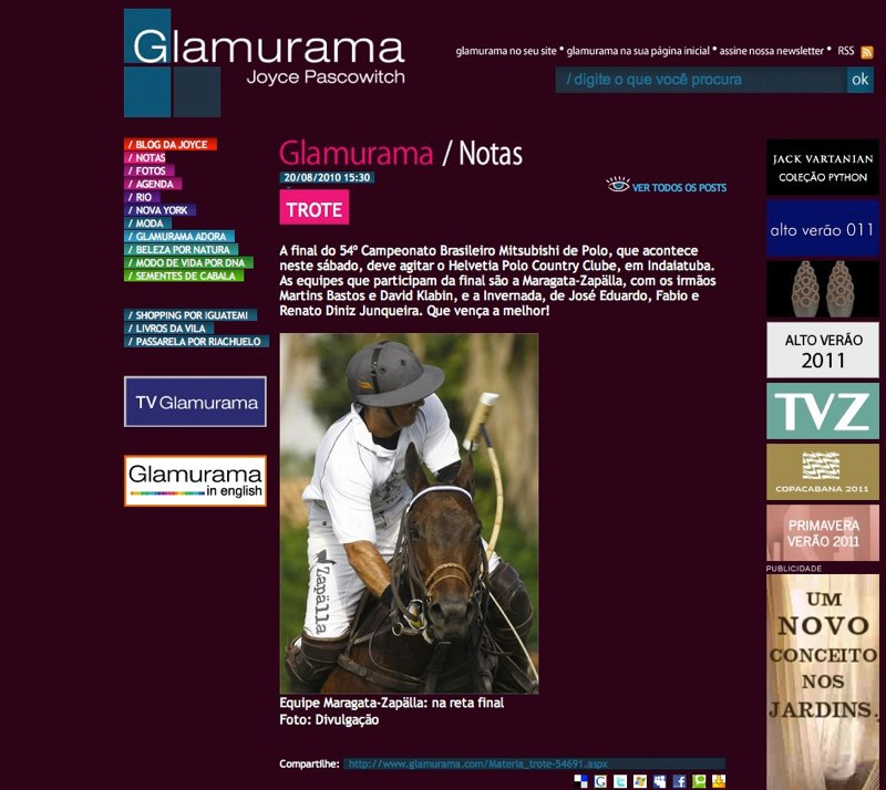 Glamurama 2010