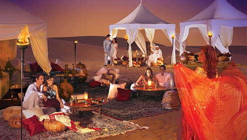 Jantar no deserto - Foto: Reprodução