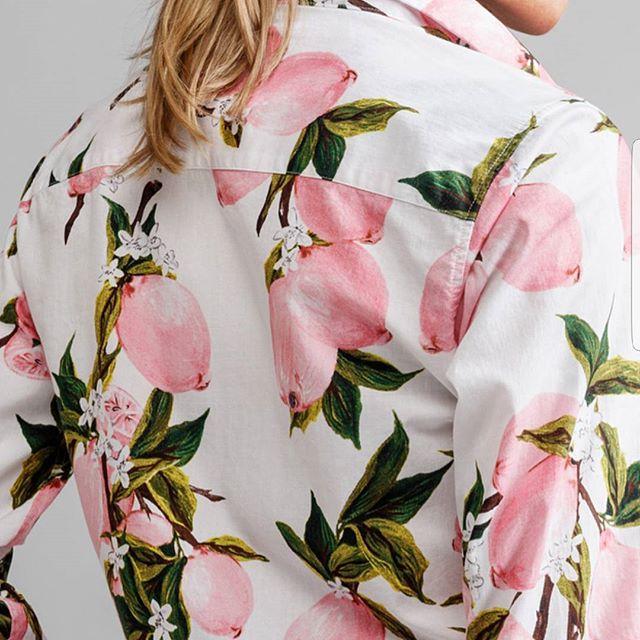 Ny skjorte fra #jeanpaulnorge #spring18 #print