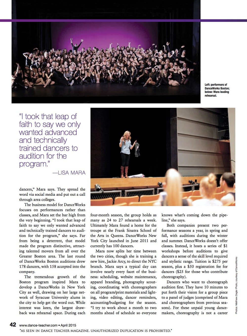 Dance Teacher Magazine Feature - Page 2.jpg
