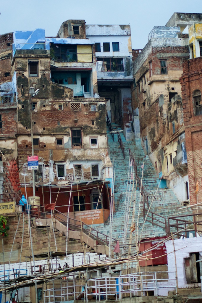 It's holy, it's grotesque, it's romantic - it's Varanasi