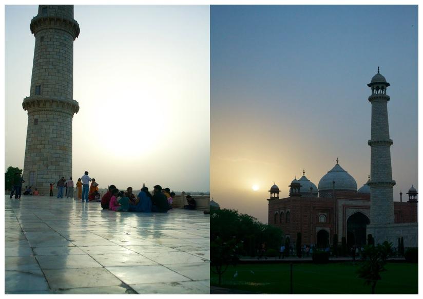 It's where Taj Mahal is - it's Agra