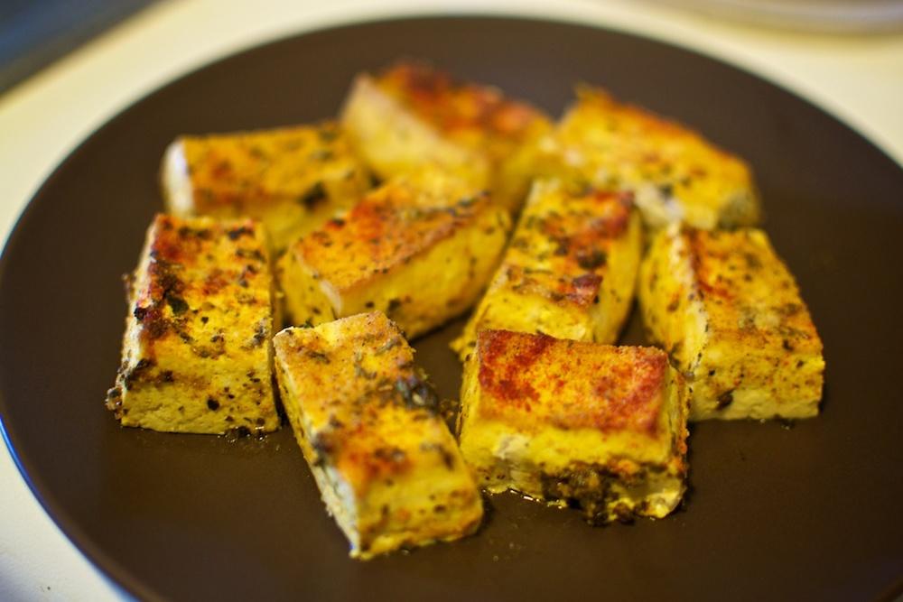Herbed tofu