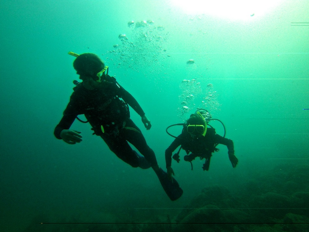Diving in Colombia