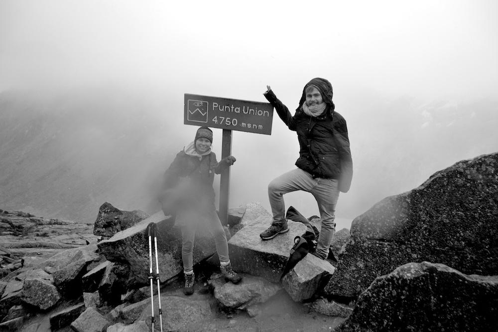 Mountain pass, Peru