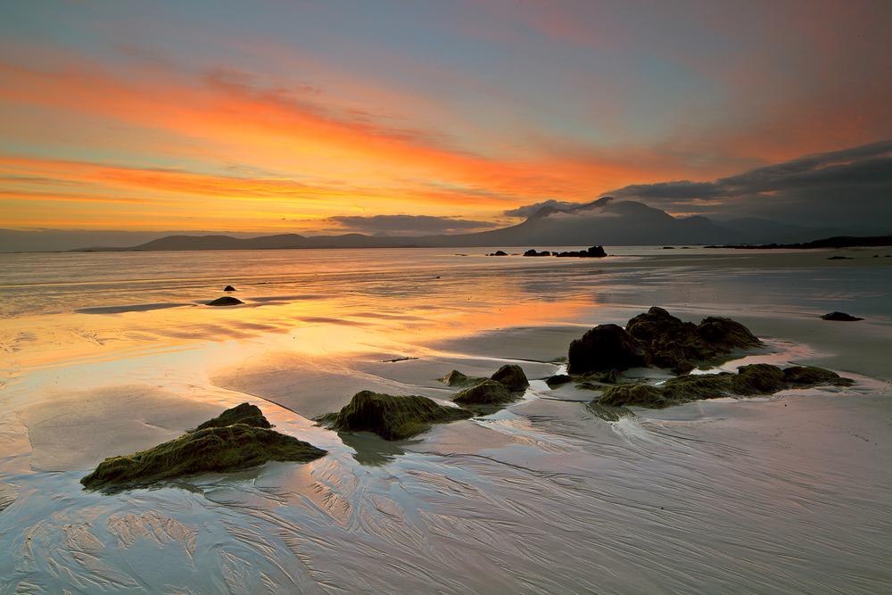Sunrise on White Strand Beach, Renvyle