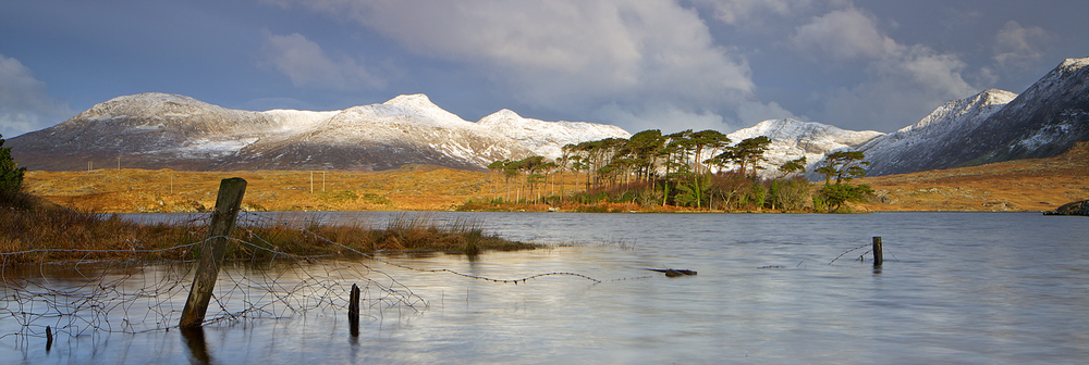 Lough Derryclare in Winter