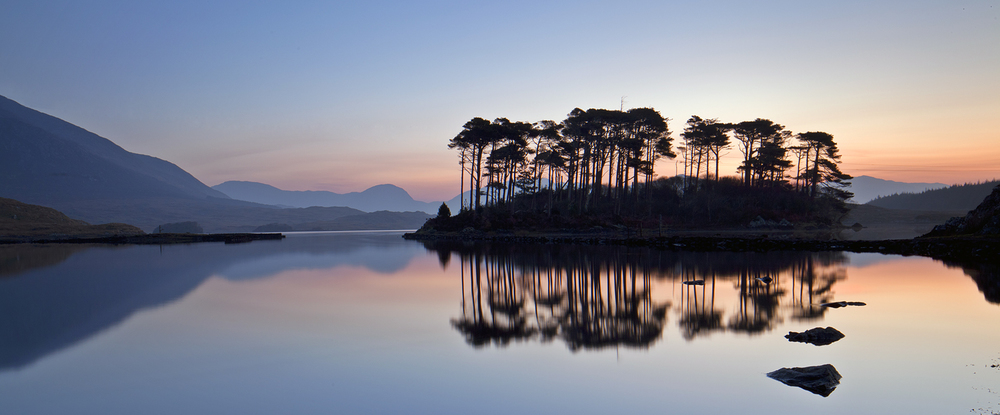 Lough Derryclare at sunrise