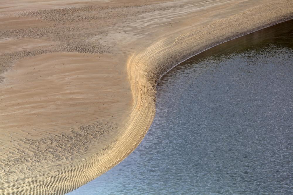 Tidal plain on Glassillaun Beach